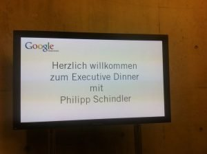 "Google Executive Dinner ""think 2011"" in Wien"