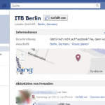 ITB 2011 auf Facebook Places