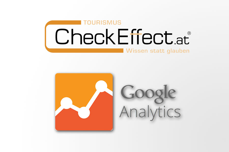 Checkeffect und Google Analytics Logo